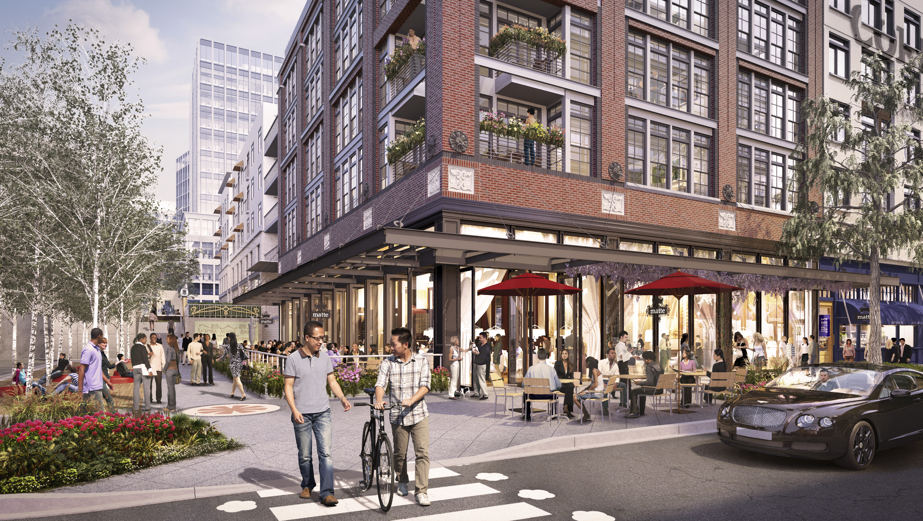 The Third Place 7 Pike Rose rendering