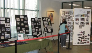 Community history exhibit at the Coffield Community Center