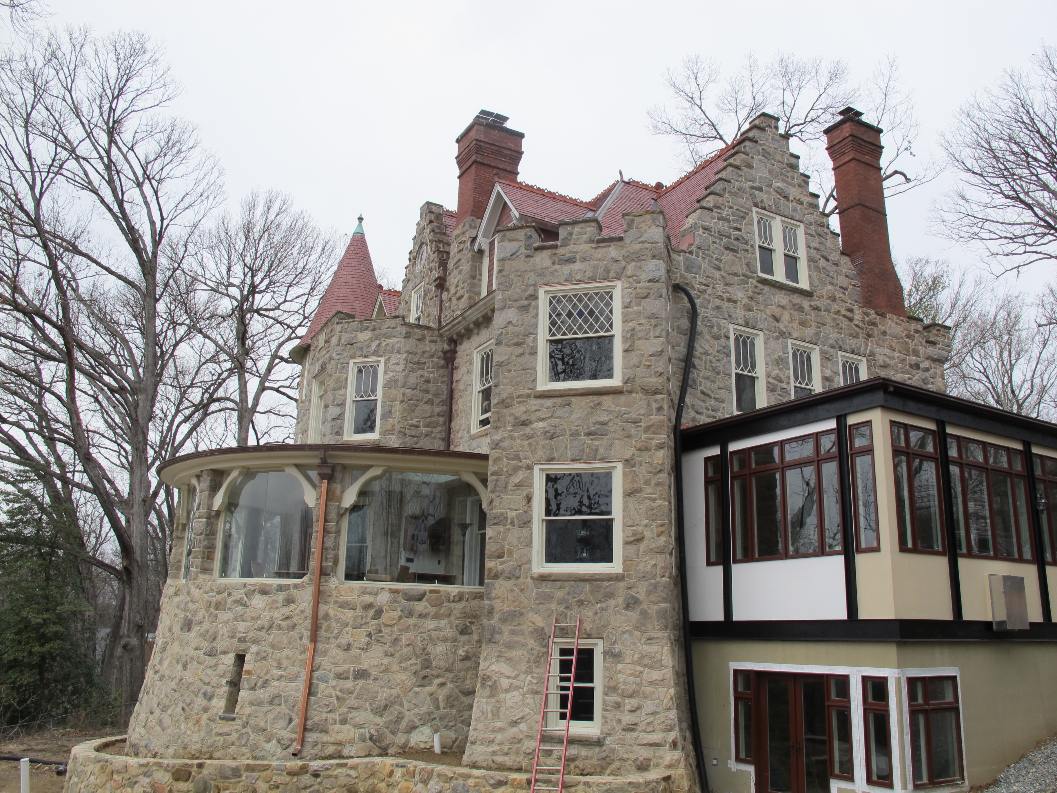 Long deteriorated, Baltzley Castle, a Montgomery County historic site, has been rehabbed.