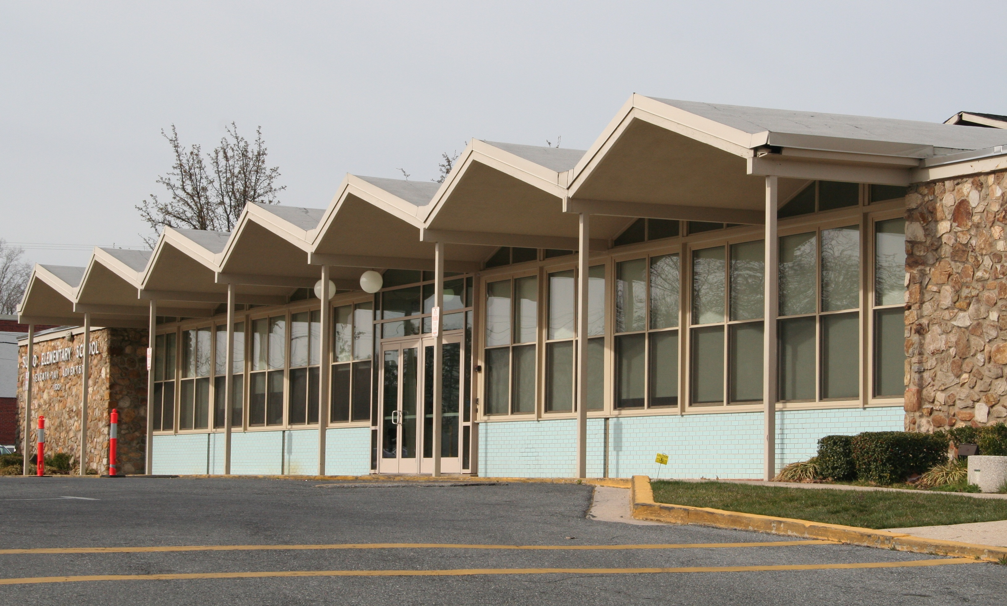 Sligo Adventist Elementary School (1963), Ronald Senseman, architect