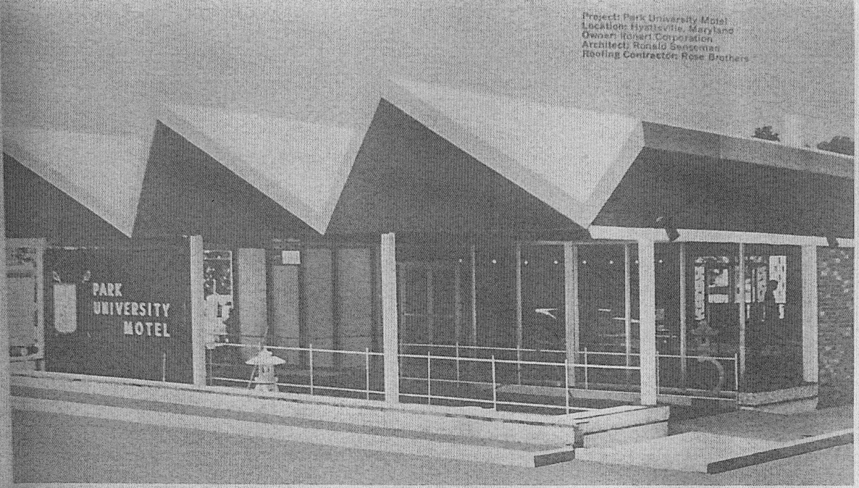 PHOTO 3 Park University Motel c1963