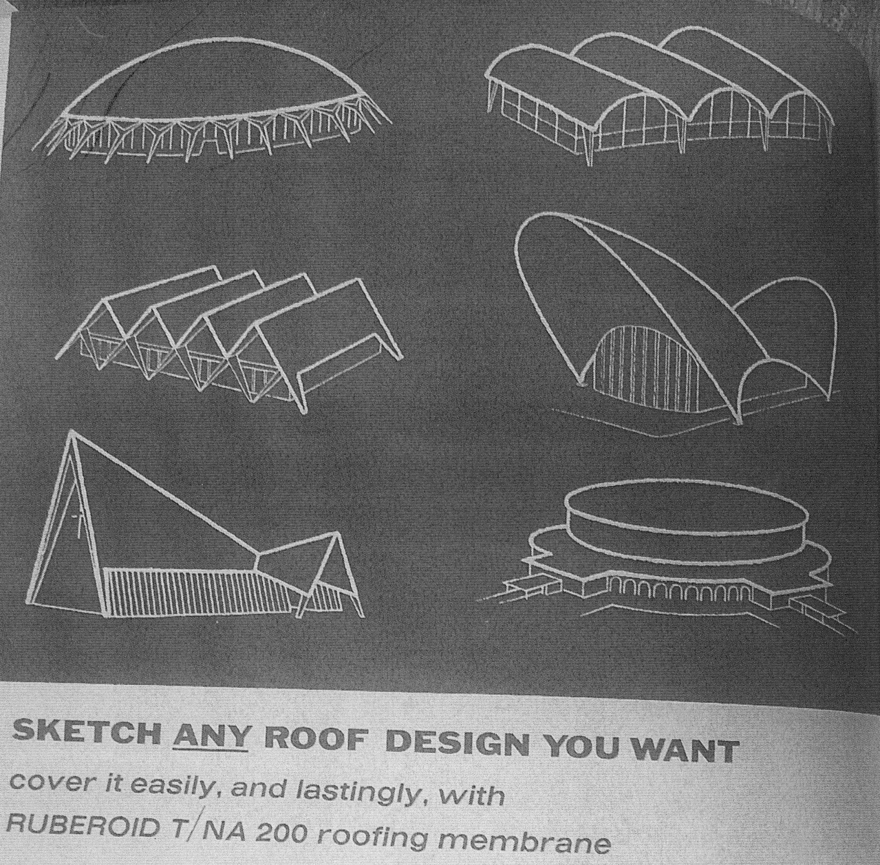 PHOTO 4 roof shapes c19630001