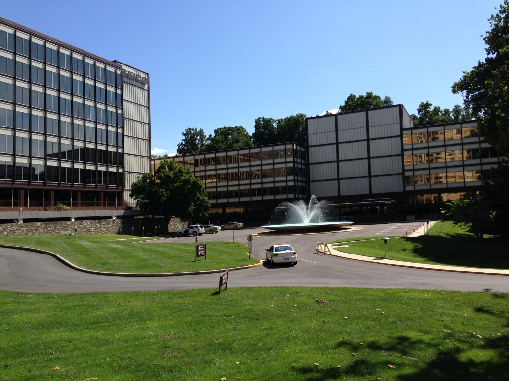Geico's suburban campus in Friendship Heights