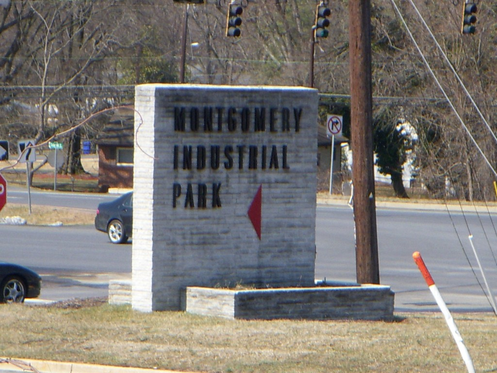 The Automation Center opened in 1961 at the newly established Industrial Park on Columbia Pike.  The original modern sign is a testament to the mid-century origins of this complex.