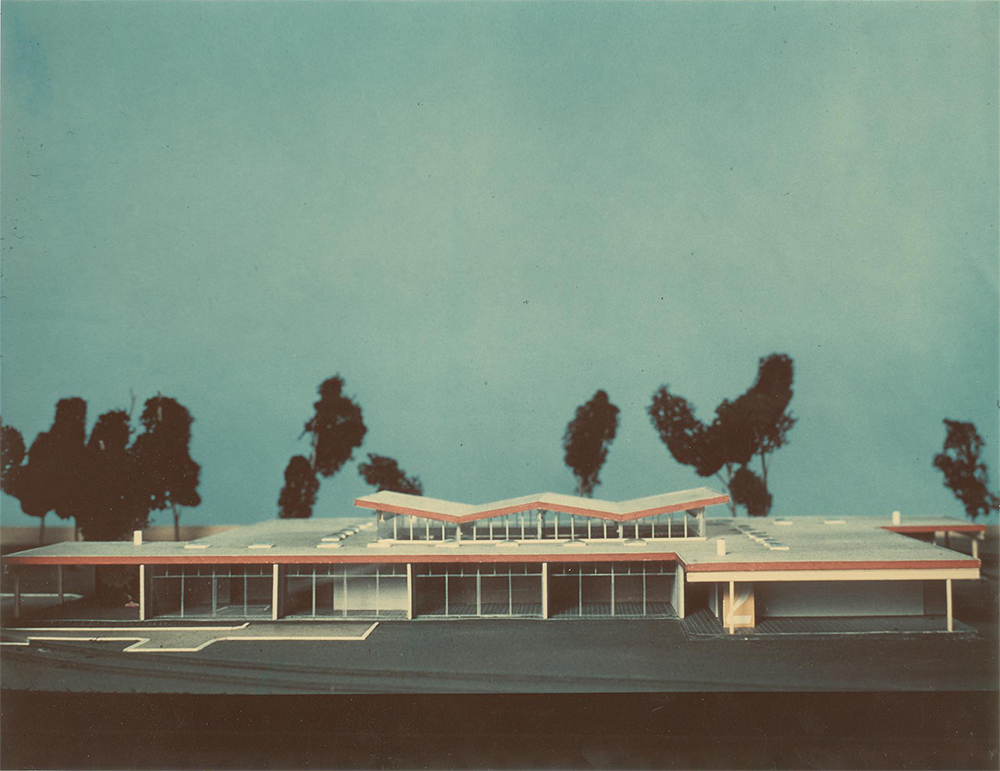 Green Acres School (1958) 11701 Danville Drive; Davis, Brody, Juster & Wisniewski Courtesy: Davis Brody Bond