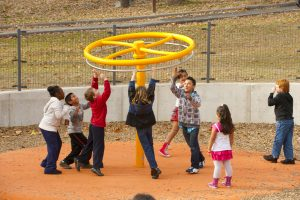 Public open spaces, such as Wheaton Regional Park, provide opportunities for kids to play