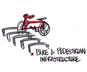 Bike and pedestrian infrastructure