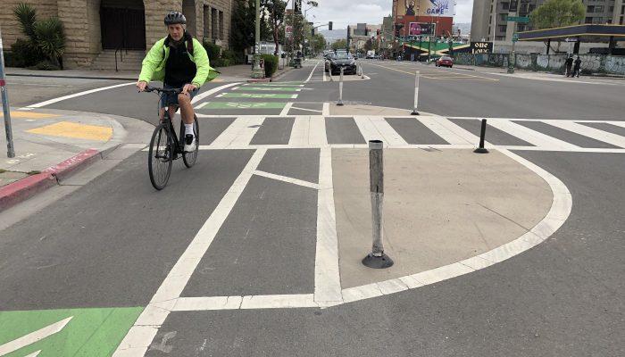 Bike lanes in San Francisco