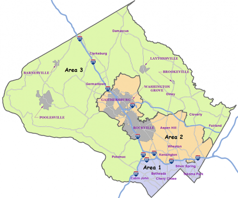 Areas map 2016