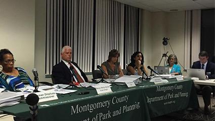 Bethesda Downtown Plan Public Hearing