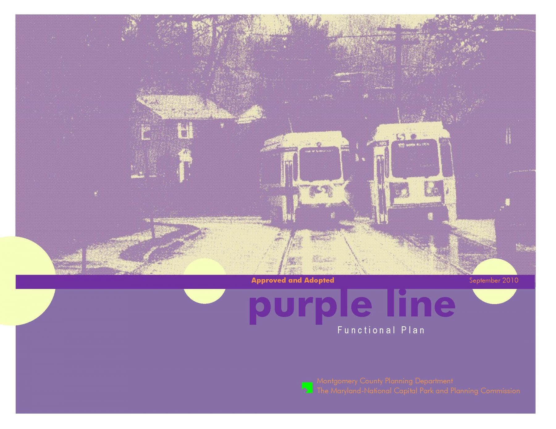 Purple Line Funct Plan / Capital Crescent Trail
