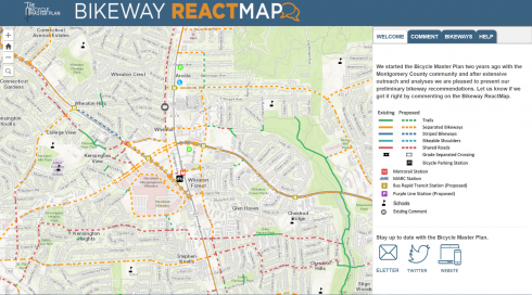Bikeway ReactMap