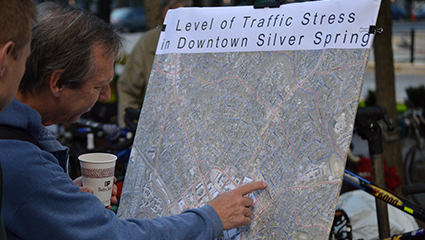 Downtown Silver Spring Bicycle Network