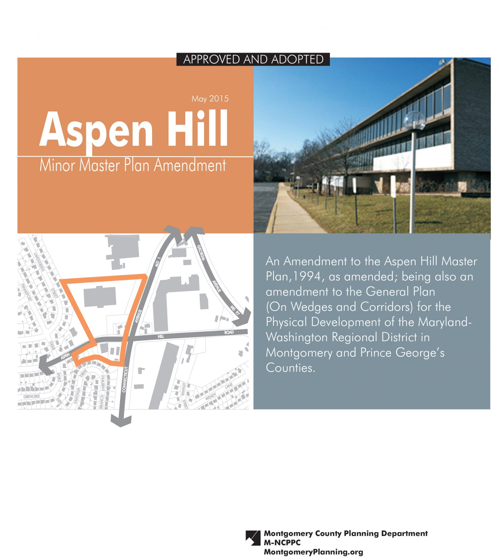 Aspen Hill Minor Master Plan