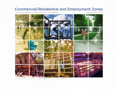 Commercial Residential Employment Zones 2017 cover