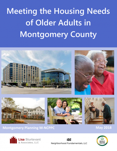 adult aging and Montgomery county