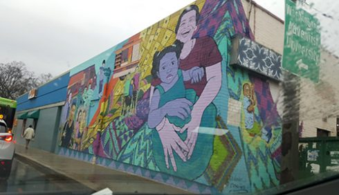 """Sewing the fabric of our Community,"" by Kate Decicco and Rose Jaffe (Summer 2015) in the Long Branch neighborhood"