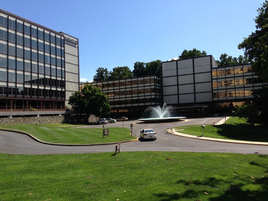 Geico's suburban campus in Friendship Heights