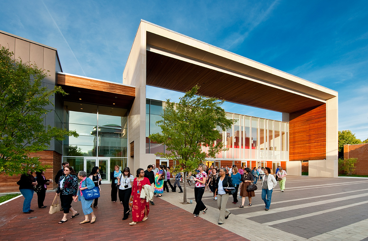 "The Silver Spring Civic Building designed by Machado Silvetti won the 2015 Design Excellence Award. The jury commented on its absolute fusion of architecture, landscape architecture and urban design. This project was all about creating ""Place."""