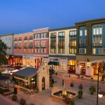 Through the use of color, historic features, and large preserved Oak trees, Santana Row in San Jose, CA creates places were people want to see and be seen.