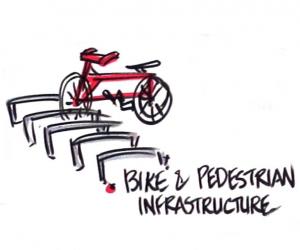 Bike and pedestrian infrastructure