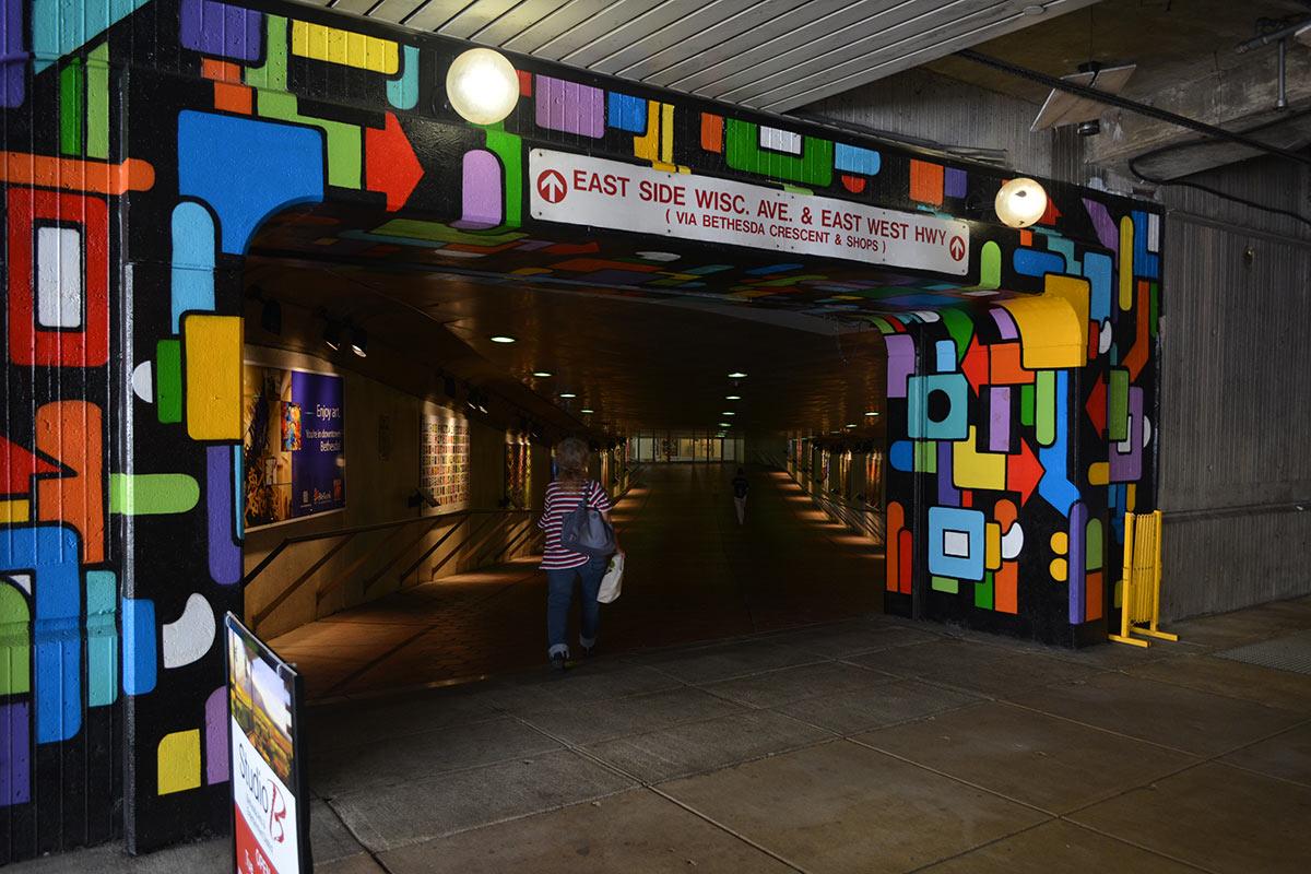 public art - tunnel