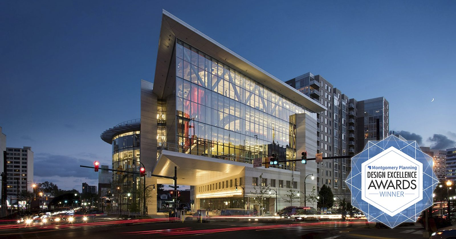 2016 – Design Excellence Winner – Silver Spring Library – Lukmire Partnership Inc.