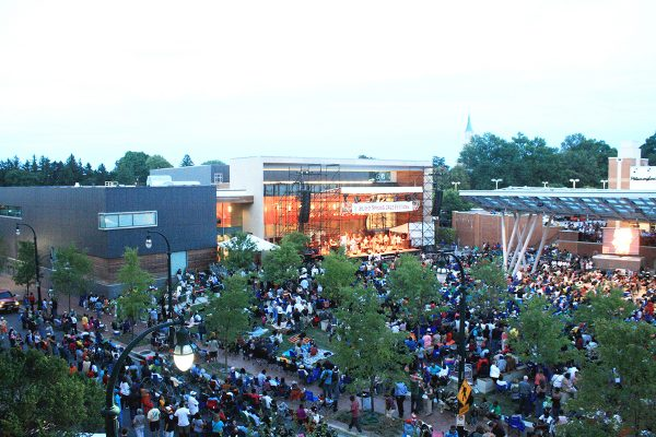 Concert on Veterans Plaza, Downtown Silver Spring