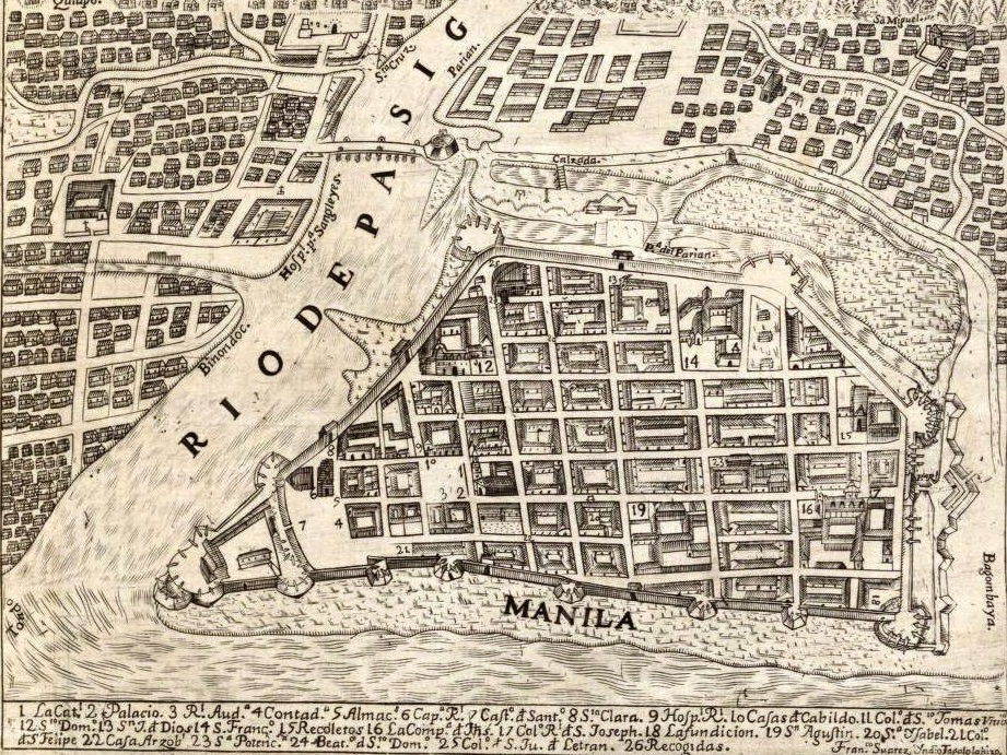 Spanish Plan for Manila