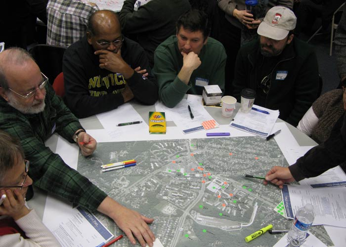 Before drafting their recommendations, planners engaged Glenmont residents in several community visioning sessions.