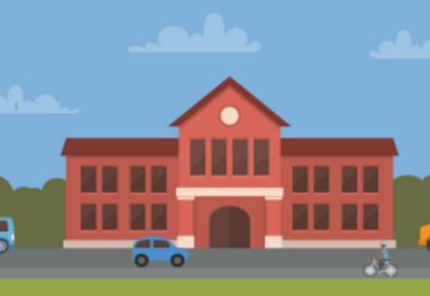 School test graphic