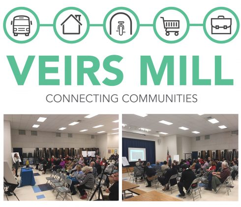 Veirs Mill Kickoff Meeting Collage