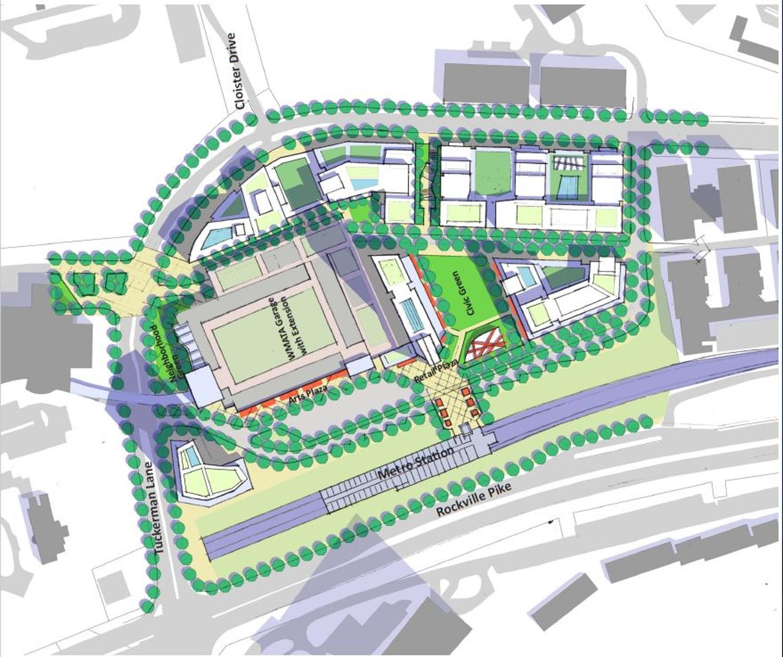 MNCPPC Grosvenor-Strathmore Metro Area Minor Master Plan