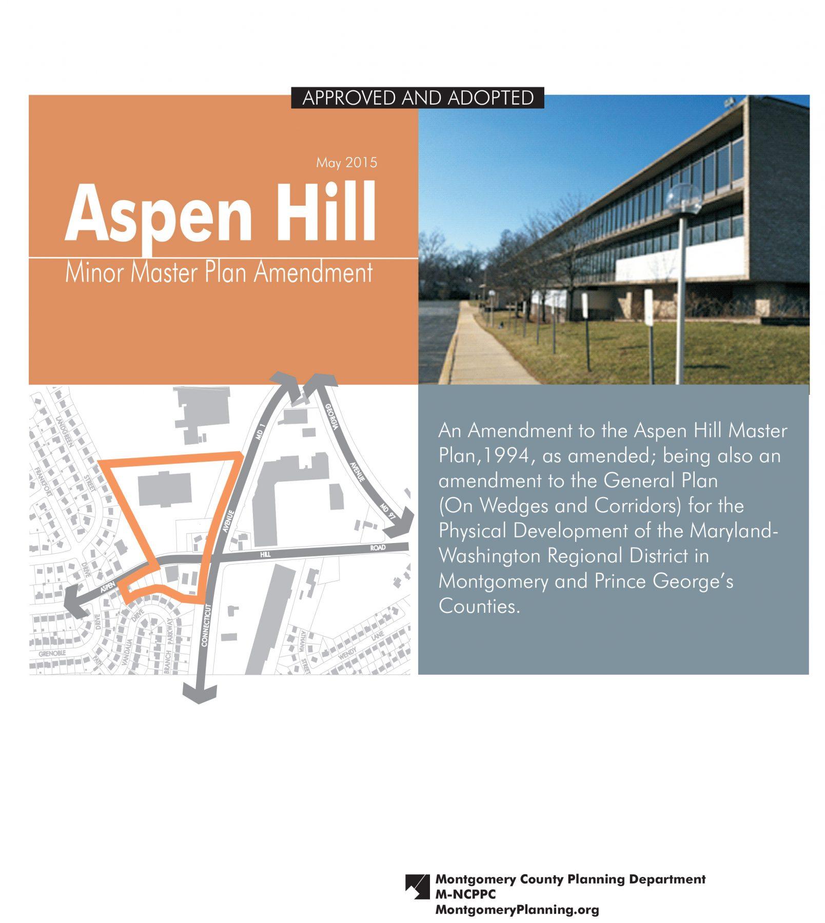 Aspen Hill Minor Master Plan