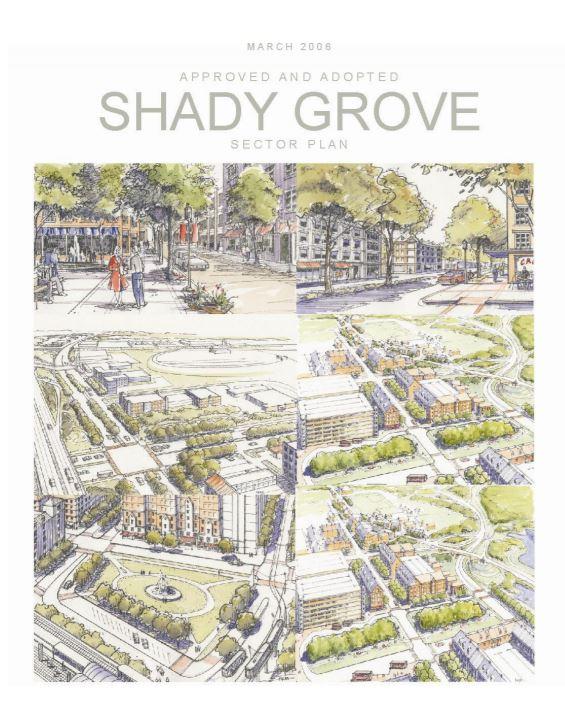 MNCPPC Shady Grove Sector Plan