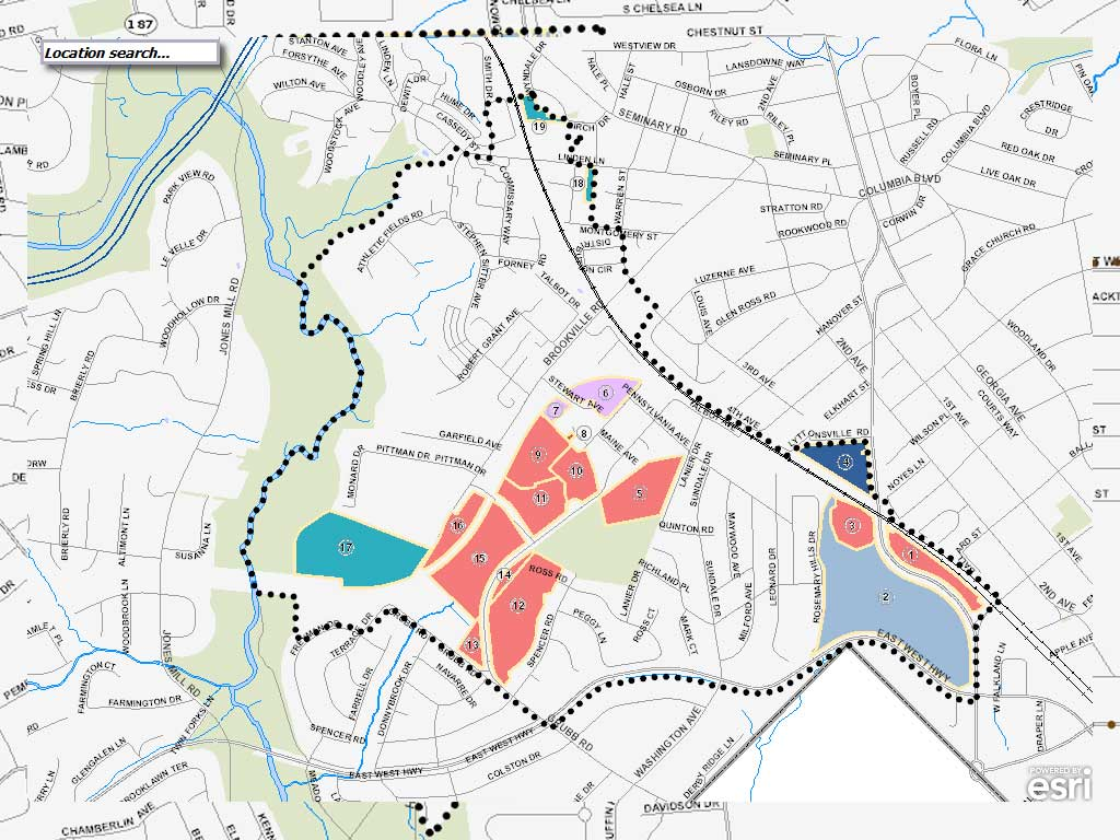 Greater Lyttonsville Sectional Map Amendment, 2017 Draft