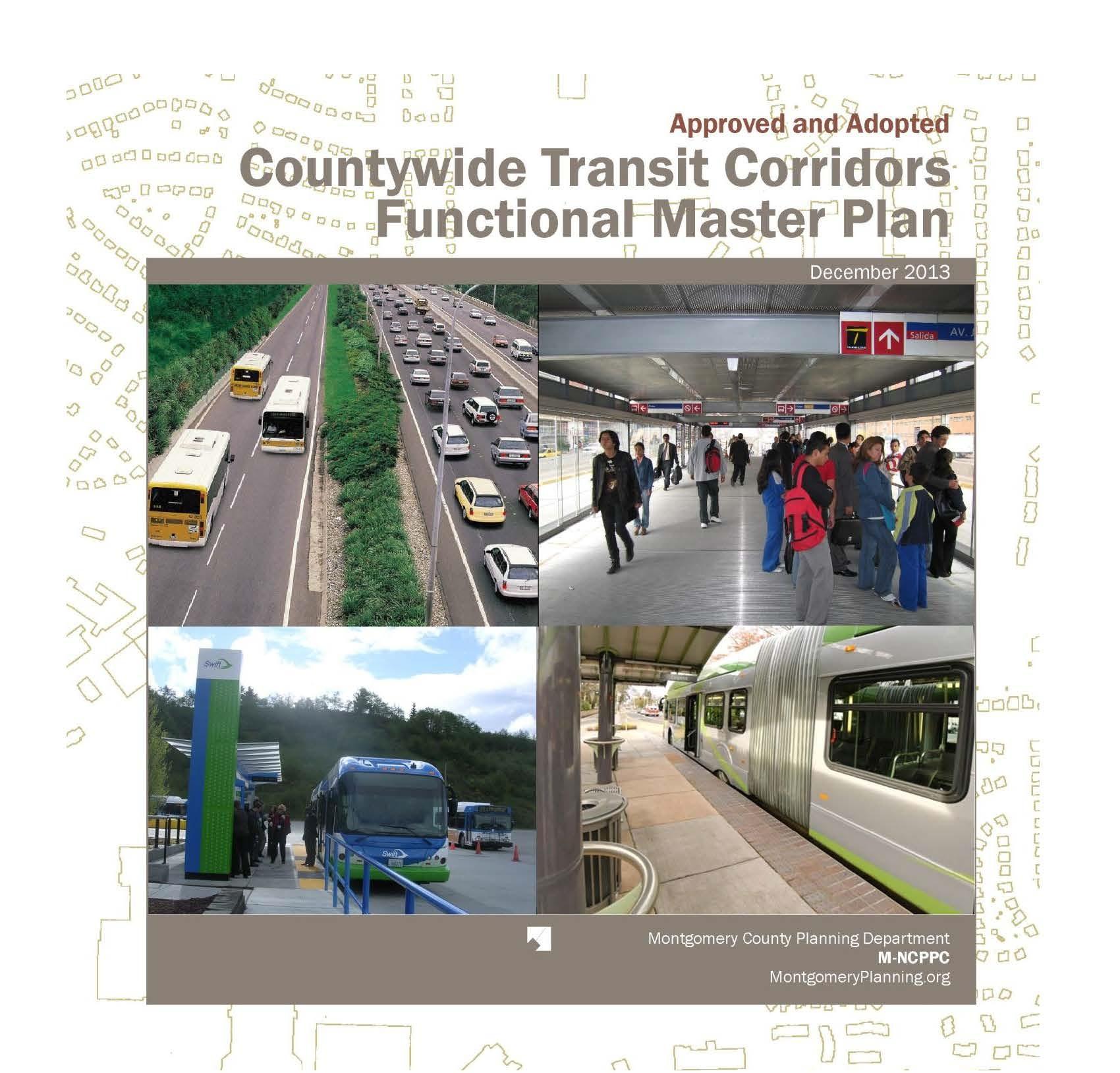 MNCPPC Countywide Transit Corridors Functional Master Plan