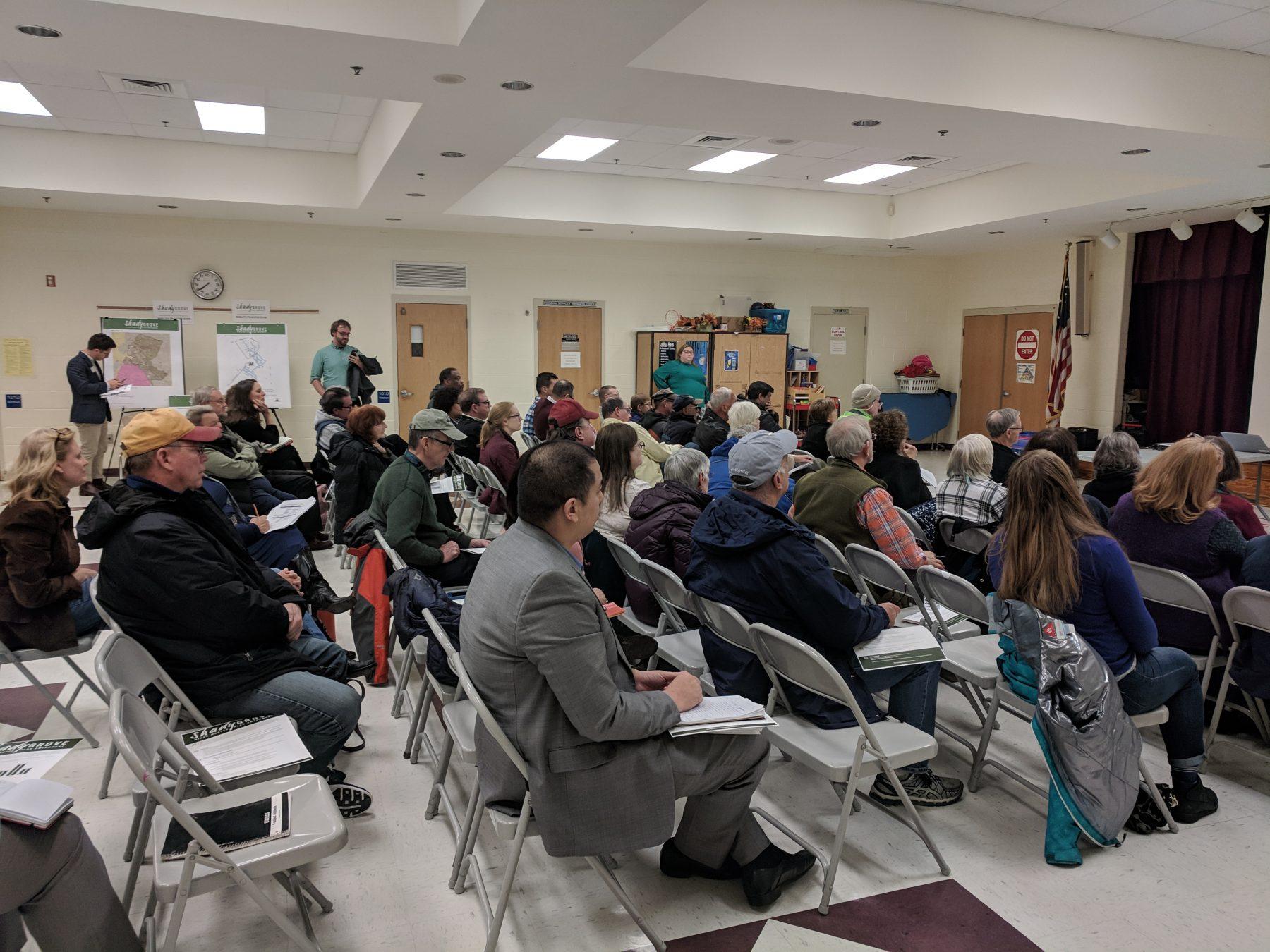 Shady Grove Kickoff Meeting