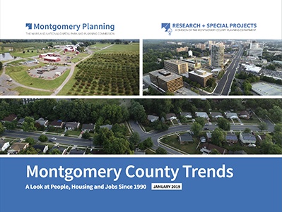 Montgomery County Trends: A Look at People, Housing, Jobs Since 1990 Report cover