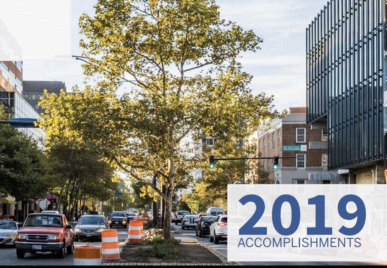 2019 Vision Zero Accomplishments cover