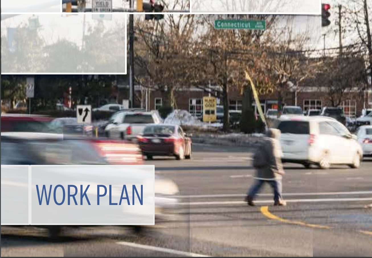 Vision Zero Work Plan cover