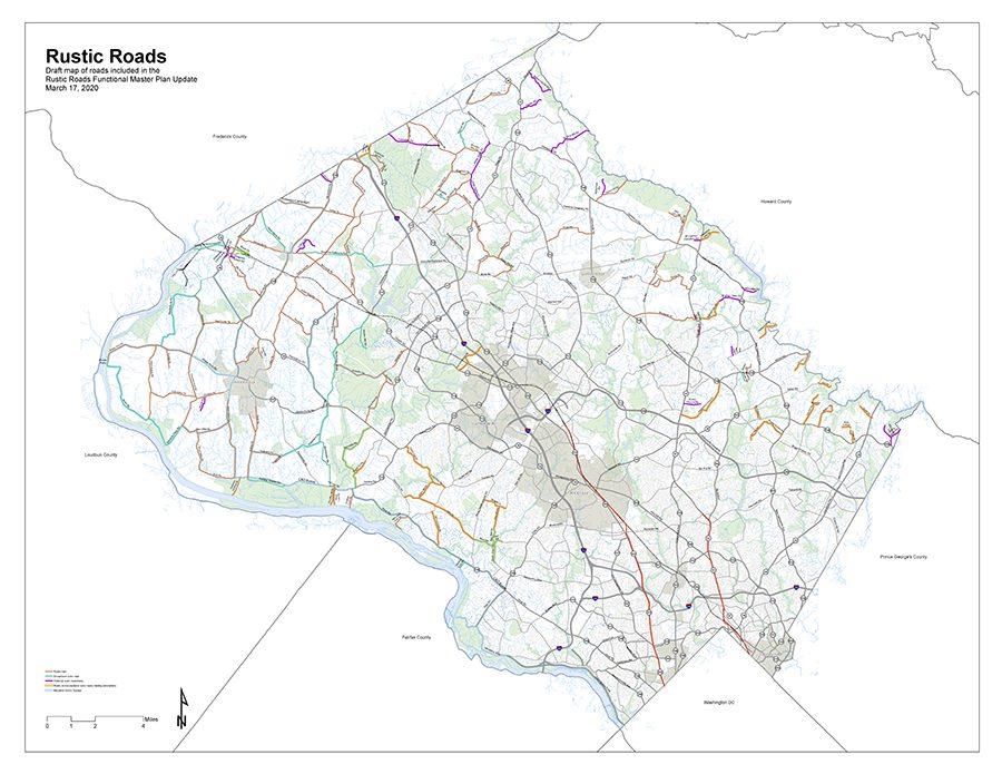 Rustic Roads 2015 Draft Map
