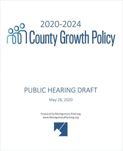 County Growth Policy - Public Hearing Draft cover