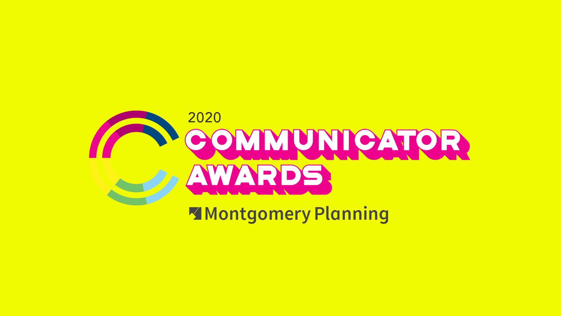 communicator awards banner