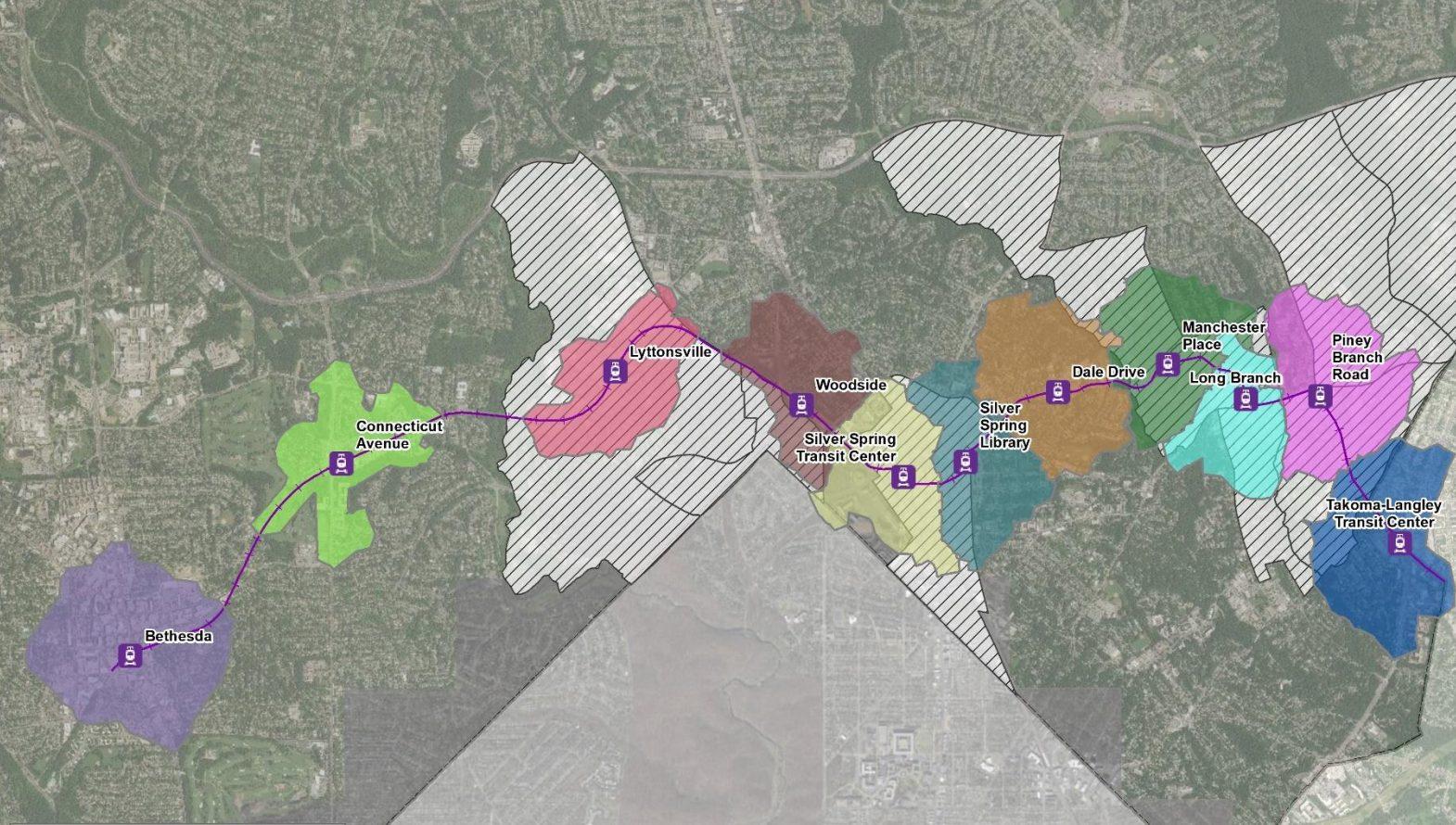 Purple Line Pedestrian Connectivity Report