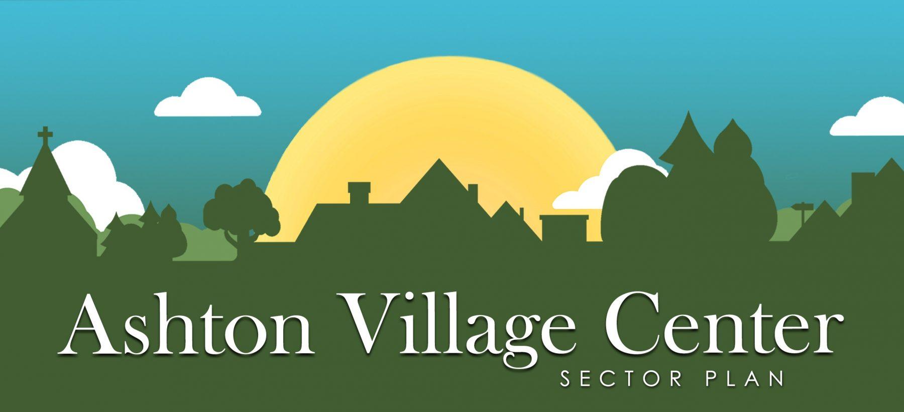 Ashton Village Center Sector Plan Logo