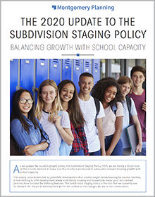 Thumbnail of cover: 2020 Update to the Subdivision Staging Policy at a Glance PDF