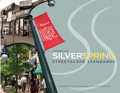 Silver Spring Streetscape Standards cover