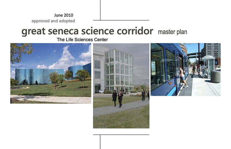 Great Seneca Science Corridor Master Plan cover