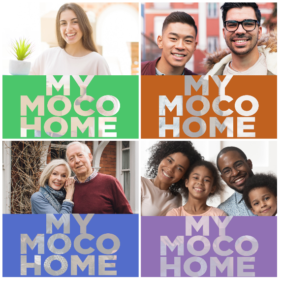 Four households of different sizes and ages with test: My Moco Home